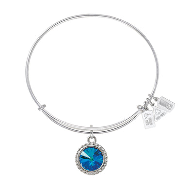 Wind & Fire Earth's Elements WATER Charm Bangle