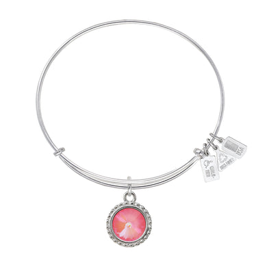 Wind & Fire Earth's Elements CORAL Charm Bangle
