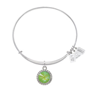 Wind & Fire Earth's Elements GREENERY Charm Bangle