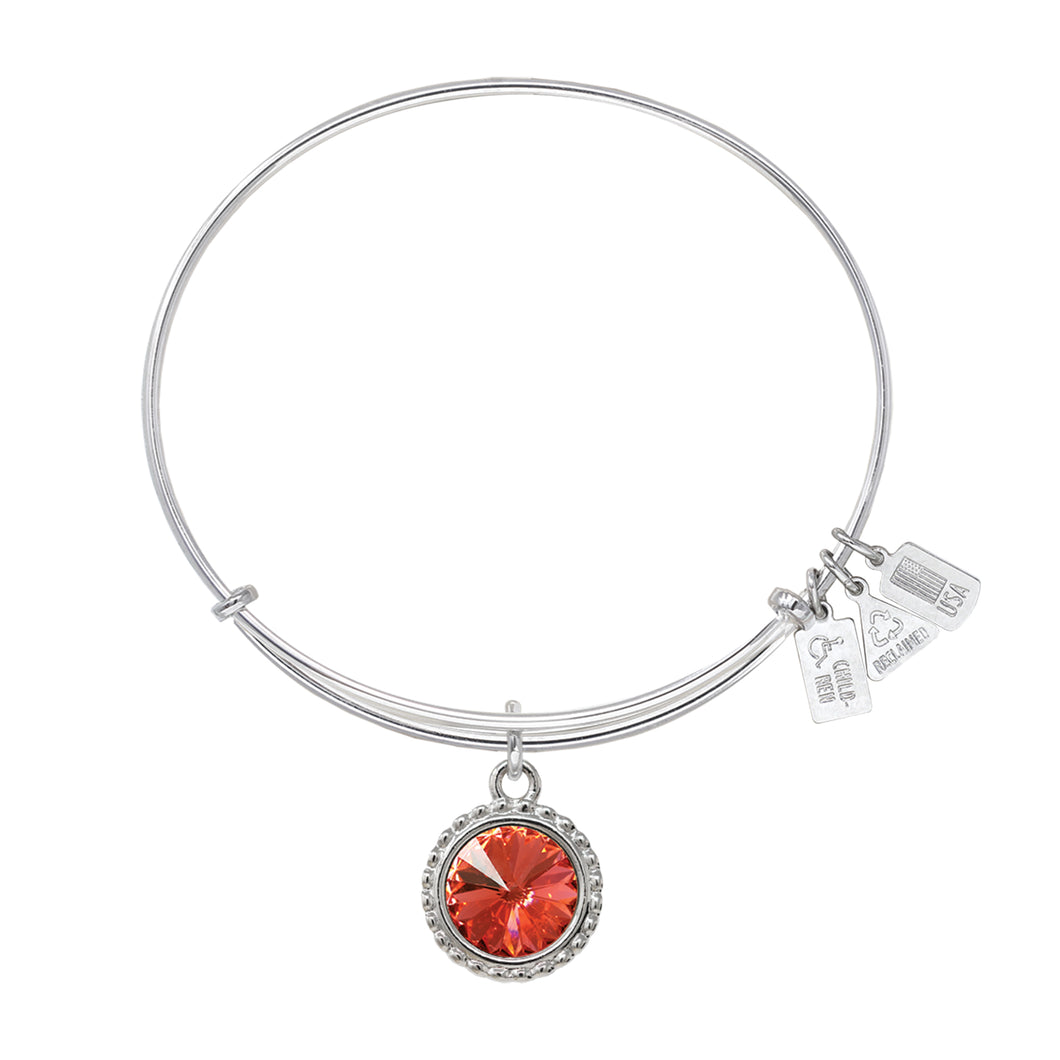 Wind & Fire Earth's Elements LAVA Charm Bangle