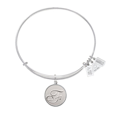 Wind & Fire Love Letter 'F' Charm Bangle