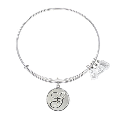 Wind & Fire Love Letter 'G' Charm Bangle