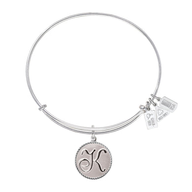 Wind & Fire Love Letter 'K' Charm Bangle