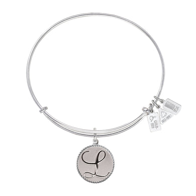 Wind & Fire Love Letter 'L' Charm Bangle
