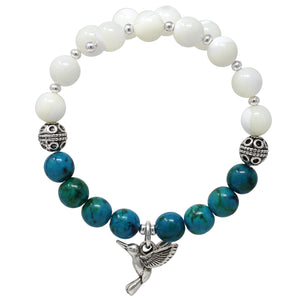 Wind & Fire Hummingbird & Ocean Breeze/M.O.P. Charm Wrap