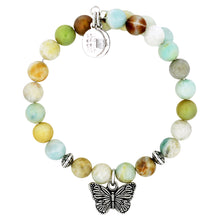 Load image into Gallery viewer, Wind & Fire Butterfly & Amazonite Charm Wrap