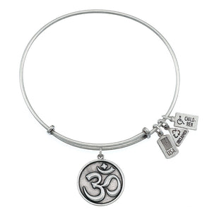 Wind & Fire Om Charm Bangle