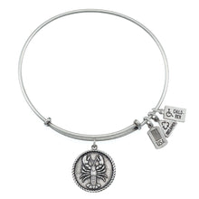 Load image into Gallery viewer, Wind & Fire Lobster Charm Bangle