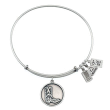 Load image into Gallery viewer, Wind & Fire Cowboy Boot Charm Bangle
