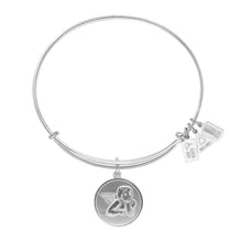 Load image into Gallery viewer, Wind & Fire Raphael Angel Charm Bangle