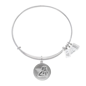 Wind & Fire Raphael Angel Charm Bangle