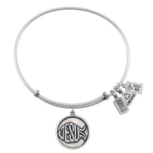 Load image into Gallery viewer, Wind & Fire Jesus (Fish) Charm Bangle