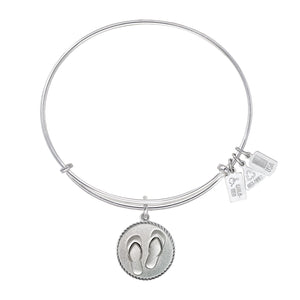 Wind & Fire Flip Flops Charm Bangle