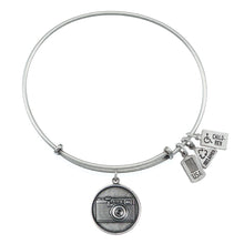 Load image into Gallery viewer, Wind & Fire Camera Charm Bangle