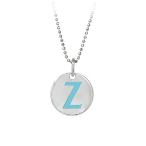 "Wind & Fire Turquoise ""Z"" Sterling Silver Necklace"