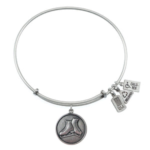 Wind & Fire Ice Skates Charm Bangle