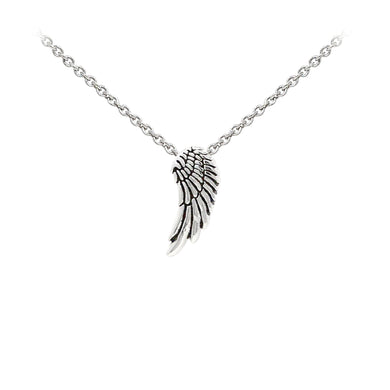 Wind & Fire Angel Wing Sterling Silver Dainty Necklace