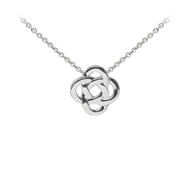 Wind & Fire Celtic Knot Sterling Silver Dainty Necklace