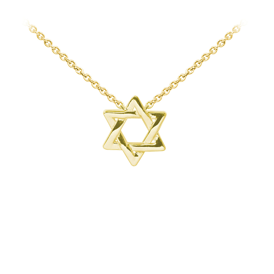 Wind & Fire Star of David Sterling Silver Dainty Necklace