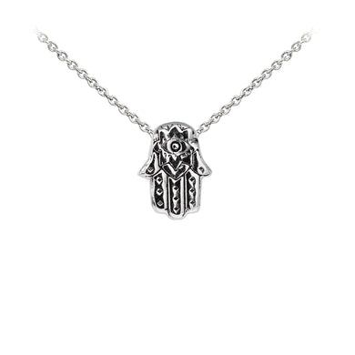 Wind & Fire Hamsa Sterling Silver Dainty Necklace