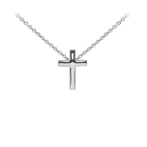 Wind & Fire Cross Sterling Silver Dainty Necklace