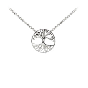 Wind & Fire Tree of Life Sterling Silver Dainty Necklace