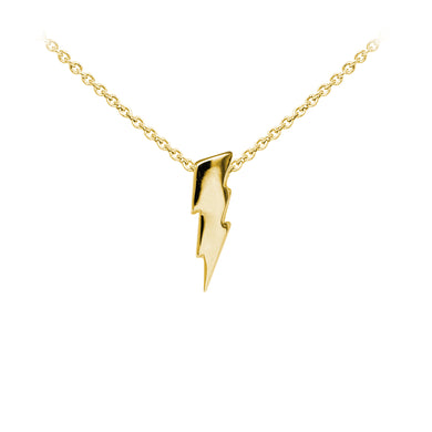 Wind & Fire Lightning Bolt Sterling Silver Dainty Necklace