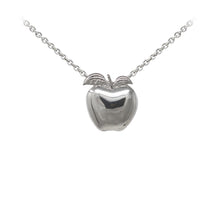 Load image into Gallery viewer, Wind & Fire Teacher's Apple Sterling Silver Dainty Necklace
