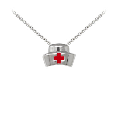 Wind & Fire Nurse's Cap Sterling Silver Dainty Necklace