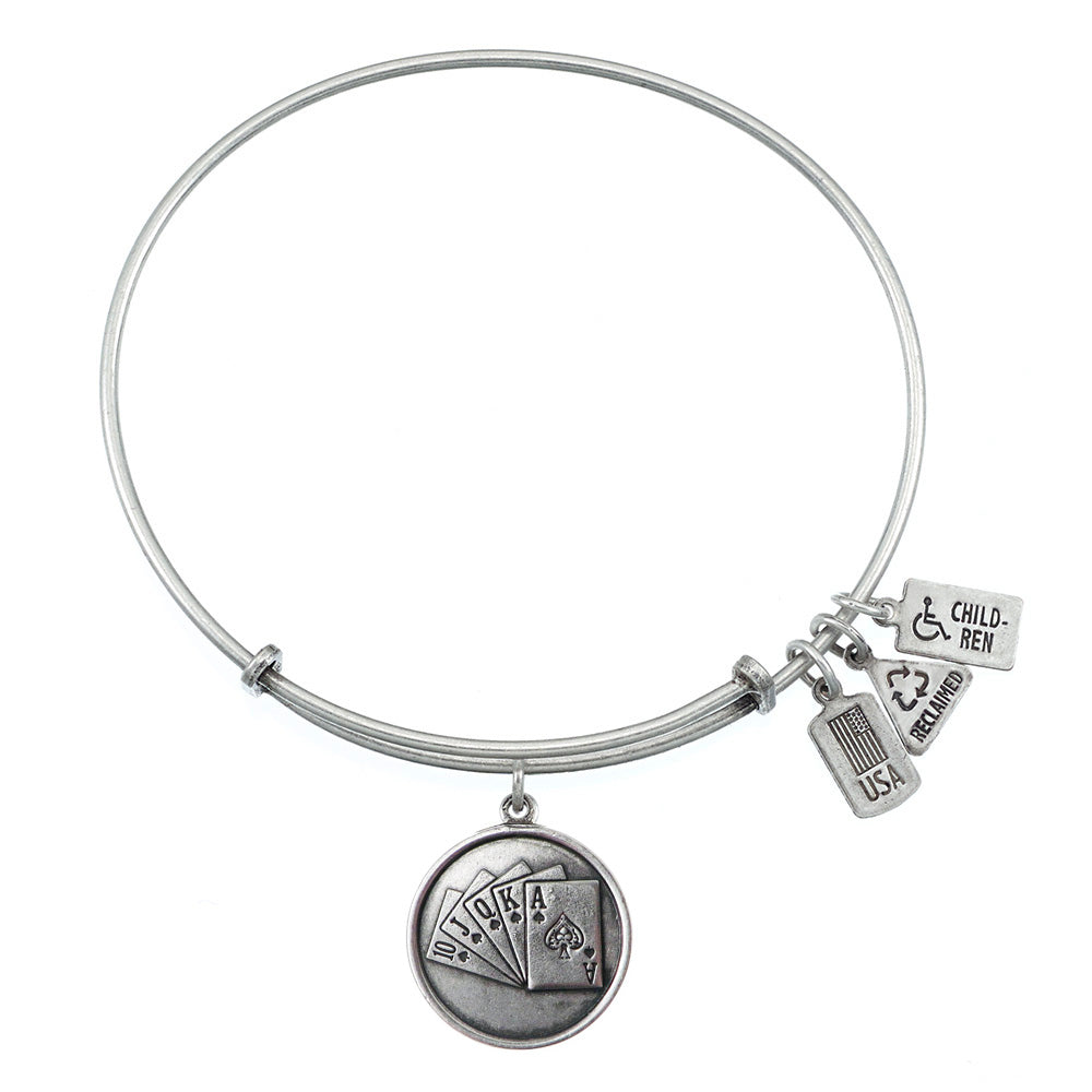 Wind & Fire Royal Flush Charm Bangle