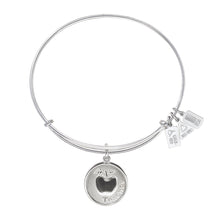Load image into Gallery viewer, Wind & Fire Teacher w/Apple Charm Bangle