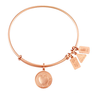 Wind & Fire Teacher w/Apple Charm Bangle