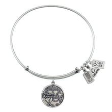 Load image into Gallery viewer, Wind & Fire Happy Anniversary Charm Bangle