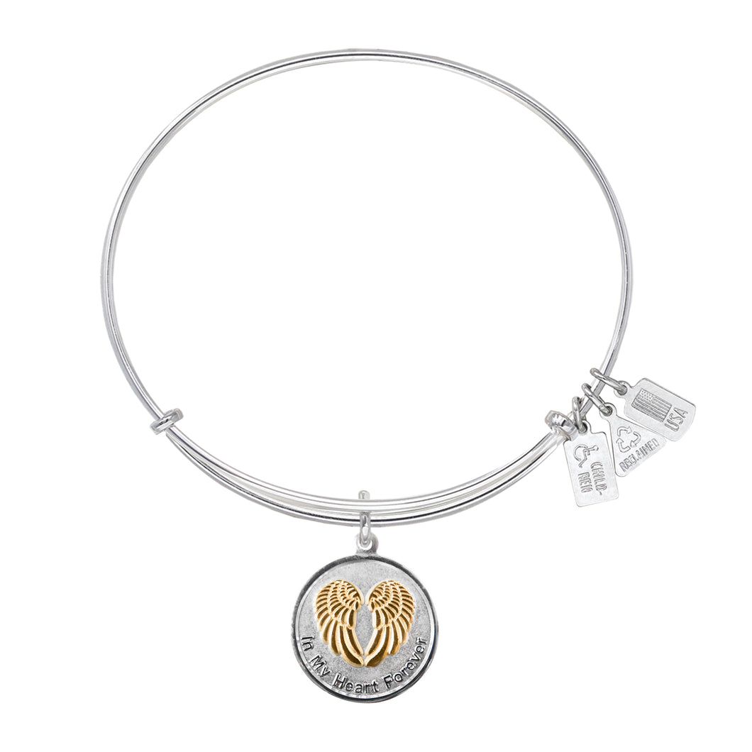 Wind & Fire In My Heart Forever Charm Bangle
