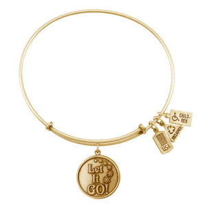 Wind & Fire Let It Go Charm Bangle