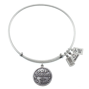 Wind & Fire Mother-in-Law Charm Bangle