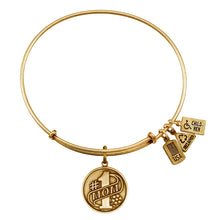 Load image into Gallery viewer, Wind & Fire Number 1 Mom Charm Bangle