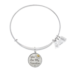 Wind & Fire You Are My Sunshine Charm Bangle
