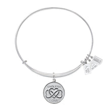 Load image into Gallery viewer, Wind & Fire Endless Love Charm Bangle
