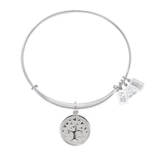 Load image into Gallery viewer, Wind & Fire Tree of Love Charm Bangle