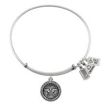 Load image into Gallery viewer, Wind & Fire Armed Forces Charm Bangle