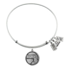 Load image into Gallery viewer, Wind & Fire Niagara Falls Charm Bangle