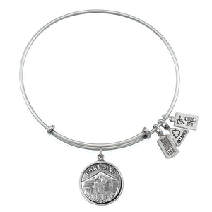 Wind & Fire Portland Charm Bangle