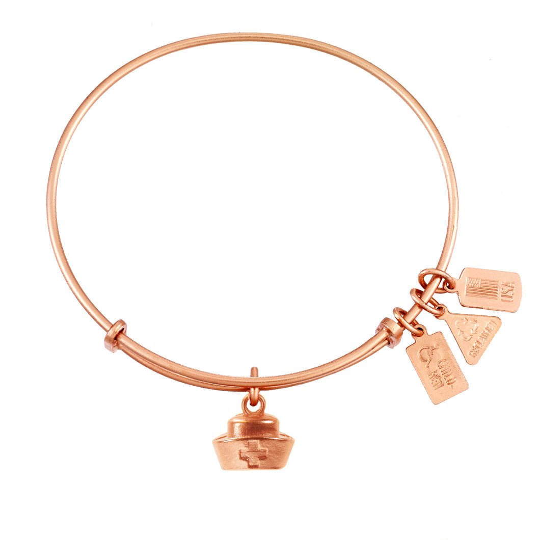 Wind & Fire Nurse's Cap Charm Bangle