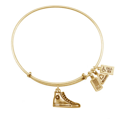 Wind & Fire High-Top Sneaker Charm Bangle