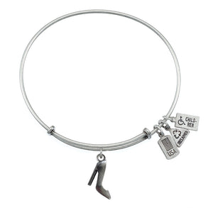 Wind & Fire High Heel Charm Bangle