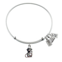 Load image into Gallery viewer, Wind & Fire Monkey Charm Bangle