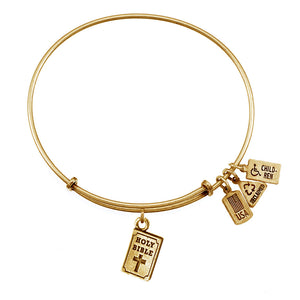 Wind & Fire Holy Bible Charm Bangle