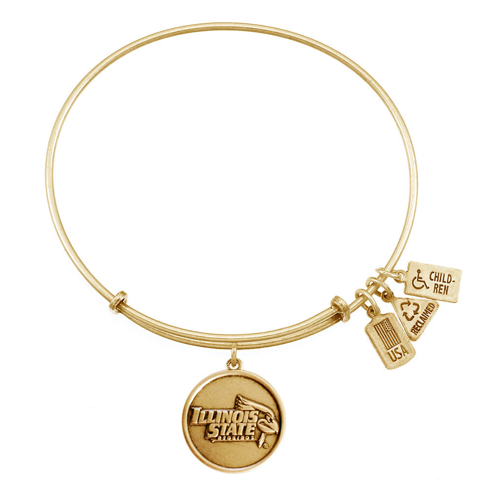 Wind & Fire ISU Redbirds Charm Bangle