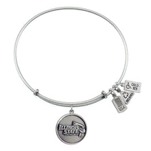 Load image into Gallery viewer, Wind & Fire ISU Redbirds Charm Bangle